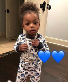 NBA YoungBoy kids bringing music in future? Cute Black Babies, Beautiful Black Babies, Beautiful Children, Cute Babies, Beautiful Family, Baby Boy Swag, Cute Baby Girl, Toddler Swag, Mommy And Son