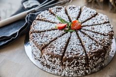 Om du älskar chokladbollar så är det givet att du ... Fika, Holidays And Events, A Food, Tart, Treats, Chocolate, Sweet, Desserts, Muffins