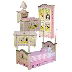 """the """"Miss Lily"""" collection of hand painted furniture by Miss Tati and Friends"""