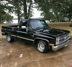 Chevy C10, 1984 Chevy Truck, 1987 Chevy Silverado, Chevrolet Cheyenne, Chevy Trucks Lowered, Custom Chevy Trucks, Chevy Pickup Trucks, Gm Trucks, Chevy Pickups