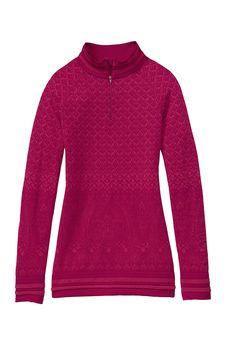 Look Great Outdoors with Athleta Diamond Peak Half Zip. #EcoFashion Activewear.