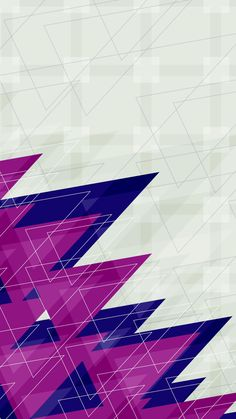 ★ Android iPhone Wallpaper background ★ pattern purple triangle
