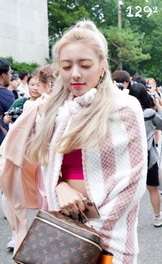 Programa Musical, K Idol, Chanel Boy Bag, Kpop Girls, My Girl, Shoulder Bag, Female, 2017 Hairstyle, Women