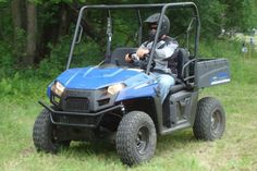 Polaris' Ranger EV is the first all-electric side-by-side from a major manufacturer.