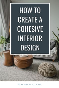 Well-designed homes always have one thing in common. It is a cohesive interior design scheme. Here's how to do it in your home.    #interiordesign #interiordecorating #homedesign #designhome #homedecorating #interiors #roomideas Decorating Tips, Decorating Your Home, Interior Decorating, Rental Home Decor, Interior Styling, Interior Design, Living Room Decor Inspiration, Shared Rooms, Better Homes And Gardens