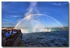 Niagara Falls, between United States and Canada