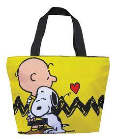 Look at this #zulilyfind! Peanuts Hug Tote Bag by Peanuts #zulilyfinds