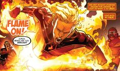 Human Torch Human Torch, Fire Nation, Comic Panels, Fantastic Four, Avengers, Marvel, Comic Art, The Avengers, Cartoon Art