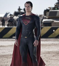 Henry Cavill as Superman @Mary Chasse