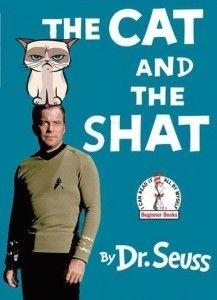 funny-lol-cat-shat-drseuss-williamshatner-star-trek-grumpy-cat-book-cover-parody-cathat-humor-joke-pictures-photos