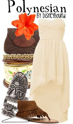 """Polynesian Resort"" by lalakay ❤ liked on Polyvore"