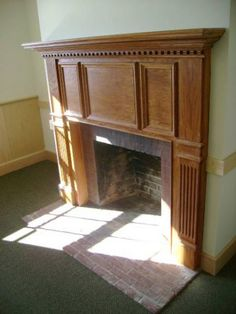 Galleries of Custom Made Fireplace Mantels from the Mantel Shoppe