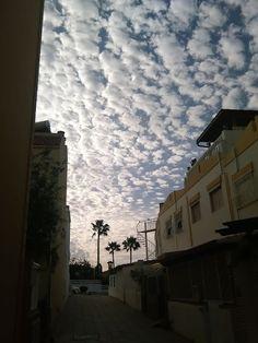 Desde las Islas Canarias  ..Fotografias  : Algodones en el Cielo de Maspalomas ....Gran Canar...