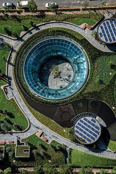 EstiloDF » Garden Santa Fe, original y premiado centro comercial subterráneo del DF