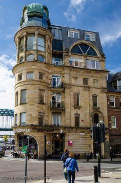 Great Coffee, Quayside - Newcastle, England, UK