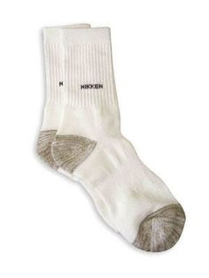 Nikken Sport Socks - Copper Filaments to prevent static build-up. Y-Shaped heel, cushioned foot bed and built-in arch for added comfort. Mesh construction for improved ventilation. Far-Infrared Technology. Breathable fibres.