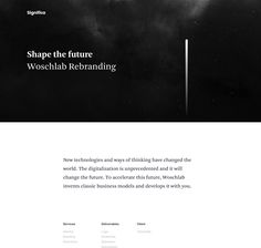 Woschlab Branding on Behance