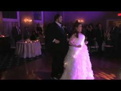 EPIC!!!! Check out this couple's Surprise First Wedding Dance at David's Country Inn in Hackettstown NJ