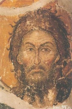 File:Paintings of John the Baptist of Protat. Byzantine Icons, Byzantine Art, Religious Icons, Religious Art, Fra Angelico, Russian Icons, Jesus Art, John The Baptist, Fresco
