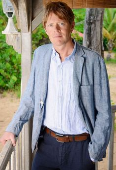Death in Paradise star Kris Marshall Interview :)