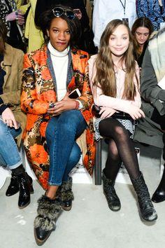 """Maddie Ziegler was Elle's Fashion Week Correspondent at the """"New York Fashion Week"""" [2015]"""