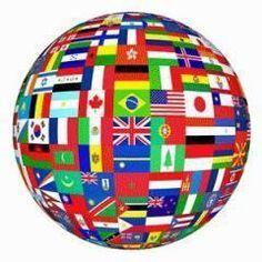 Language interchange. Spanish for English or Portuguese.