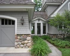 stone front, front door entrances | Stone Wall In Awesome Traditional Exterior Design With Front Entrance ...