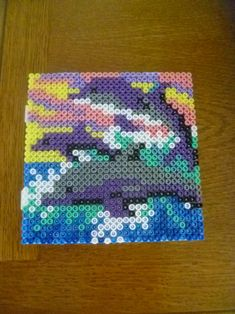 Dolphins hama beads by mamypapou
