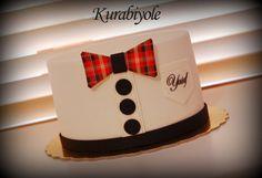 Bowtie.. - Cake by ESRA HACIOĞLU (Kurabiyole)