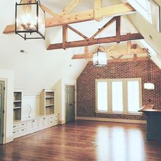 what an amazing room - so many possibilities!