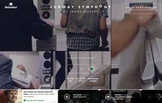 FWA winner | Subway Symphony