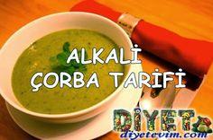 Alkali yemekler ile beslenmeyi tercih edenler için alkali çorba tarifi.