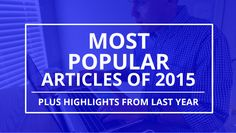 Read the 10 Most Popular Articles on measurement uncertainty in 2015 andget a sneak peak at my plans for 2016.