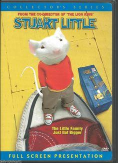 Stuart Little (DVD, 2000, Collector's Series)  Hugh Laurie, Geena Davis