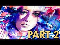 【WATERCOLOR / COLOREX PORTRAIT】 Speed painting (Part 2)
