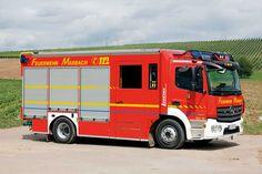 HLF 10 auf Euro-VI-Basis  Die Abteilung Rielingshausen der Freiwilligen Feuerwehr Marbach am Neckar (Landkreis Ludwigsburg/Baden-Württemberg) stellte im März 2016 ein Hilfeleistungslöschgruppenfahrzeug HLF 10 in Dienst.  Quelle/Bild: J. Thorns