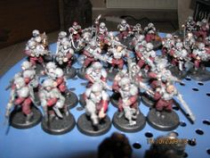red imperial guard warhammer 40k - Google Search