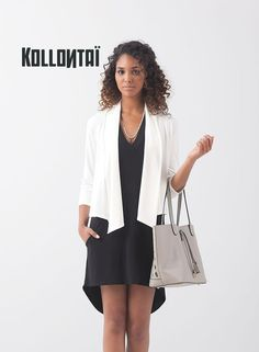 KOLLONTAÏ VESTE ANZIO BLANC Jackets, Collection, Fashion, Jacket, White People, Fashion Ideas, Dress, Desk, Down Jackets
