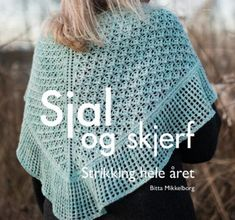 Sjal og skjerf Bitter, Crochet Top, Ravelry, Lace, Sweaters, Tops, Women, Education, Fashion