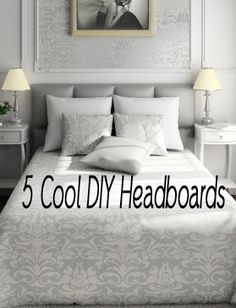 Diy Headboards Headboards And Tufted Headboards On Pinterest