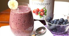 ViSalus Shakes Cran-Blueberry Recipe    2 scoops ViSalus Vi-Shape® Nutritional Shake Mix  1/2 cup Cranberry Juice (low calorie)  1 cup Frozen Blueberries  10-12 Frozen Cherries  4 oz. Non-Fat Milk, or Soy, Rice or Almond Milk  4-6 Ice Cubes
