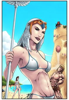 Masters of the Universe - The Beach by Killersha on DeviantArt