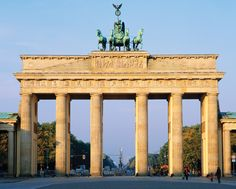 Berlin's Top 10 : Historic Buildings - Brandenburger Tor    More than a mere symbol, the Brandenburg Gate is synonymous with Berlin .