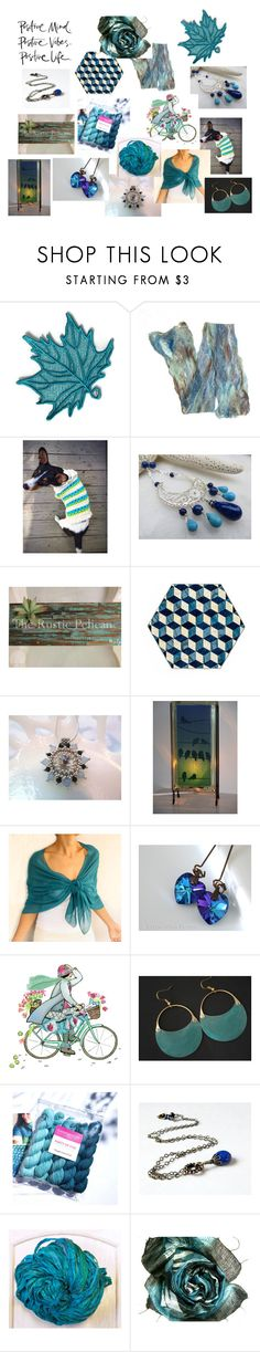 """""""Positive Vibe"""" by valeriebaberdesigns ❤ liked on Polyvore featuring Lazuli"""