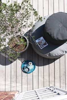 cozy canvas outdoor furniture from TRIMM Copenhagen