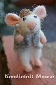 Knitty Mummy: Pinterest Challenge - Needle Felted Mouse