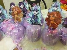 Monster High Candy Apples by Chef Cici