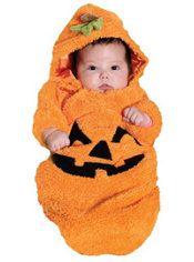 Baby Pumpkin Costume Baby Bunting