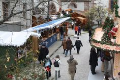Basel Christmas Market. Switzerland