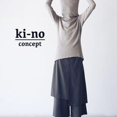 Fashion is what you buy. Style is what you do with it. ▫️Long sleeve sweater. Turtleneck collar. Raw edge at hem. UNISEX. ▫️2 layered pants with zip on the side. Fabric: blend cotton60%wool40% (S.Korea) #kinoconcept